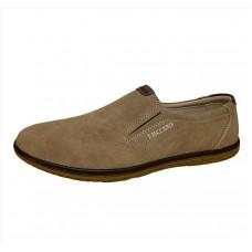 Туфли мужские casual бежевые